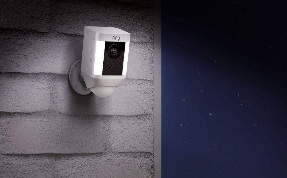 Ring Spotlight - Beelden van bewakingscamera delen