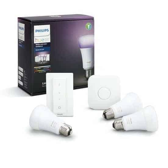 Philips Hue White & Color E27 Starterkit
