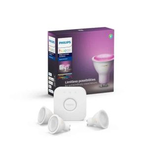 Philips Hue White & Color GU10 starterkit