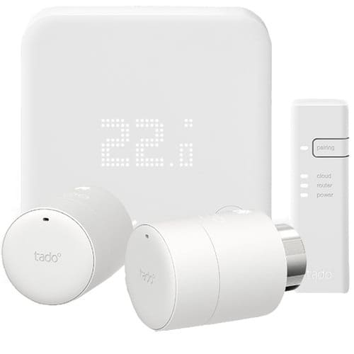 Tado V3+ Thermostaat + 2 Thermostaatknoppen