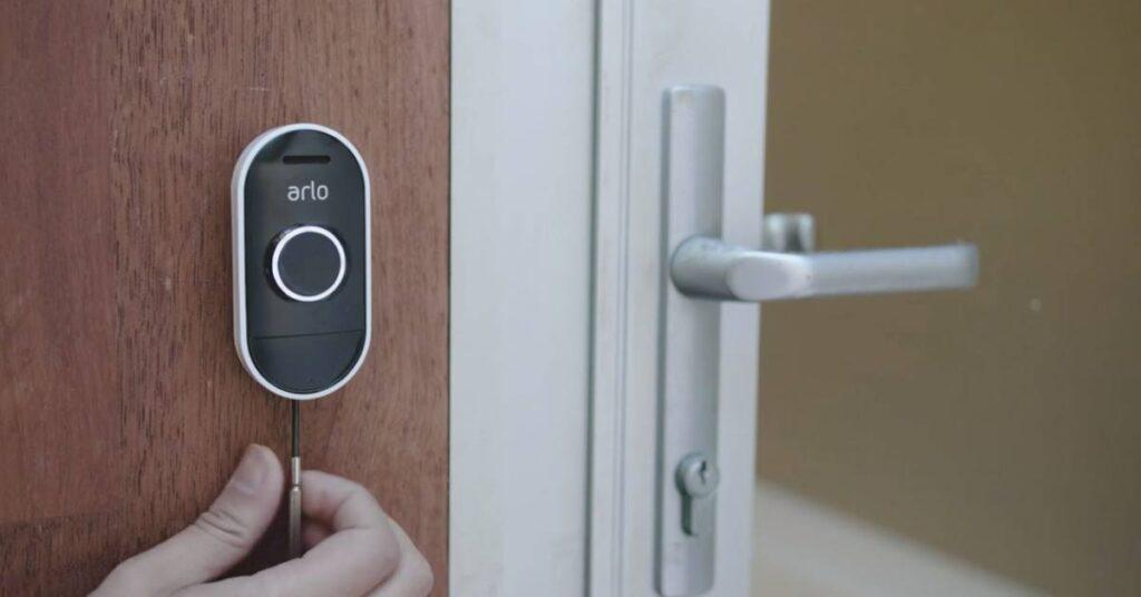 Arlo Audio Slimme deurbel zonder camera