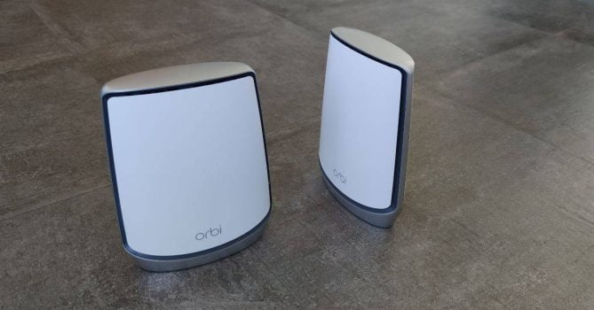 Orbi AX6000 router review